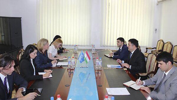 Встреча Первого заместителя Министра финансов Республики Таджикистан с Представителями Всемирного банка - Sputnik Тоҷикистон