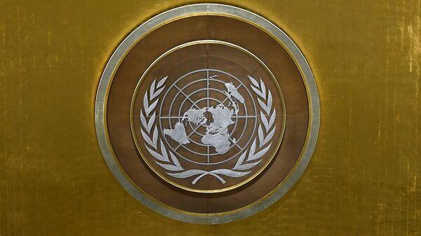 Эмблема ООН, архивное фото - Sputnik Таджикистан