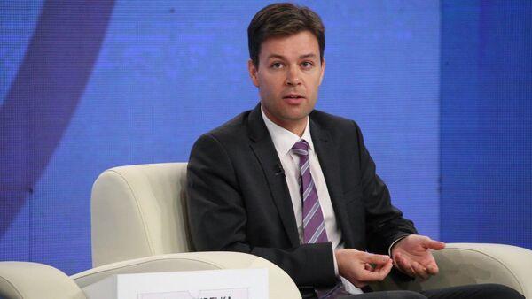Глава представительства Германского общества по международному сотрудничеству Йорг Пуделька - Sputnik Таджикистан