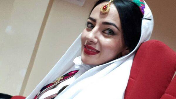 Садорат Маматкулова на конкурсе красоты в Индии Самое красивое лицо мира - 2017 - Sputnik Таджикистан