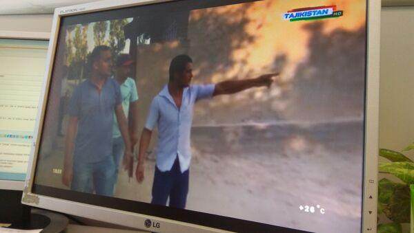 Программа Сипар МВД на телеканале Точикистон об убийстве двух отцов со стороны сыновей - Sputnik Тоҷикистон
