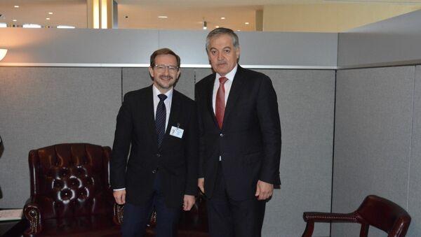 Встреча Министра иностранных дел Таджикистана с Генеральным секретарем ОБСЕ - Sputnik Таджикистан