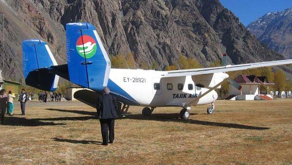 Самолет АН-28 авиакомпании Tajik Air, архивное фото - Sputnik Тоҷикистон