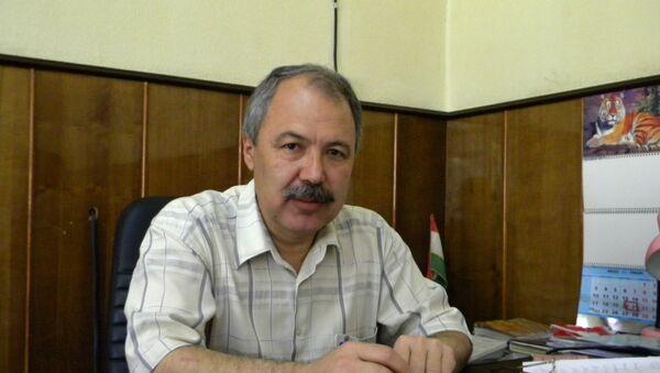 Абдугаффор Абдуджабборов, архивное фото - Sputnik Таджикистан