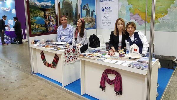 Участие Таджикистана на выставке JATA Tourism EXPO Japan-2017 - Sputnik Тоҷикистон