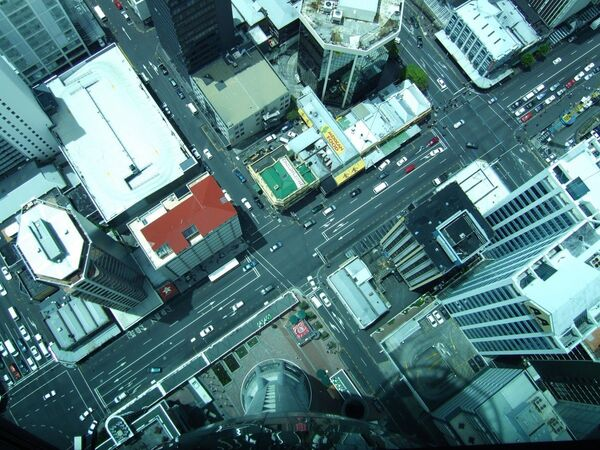 Небоскреб Sky Tower, Новая Зеландия, архивное фото - Sputnik Таджикистан