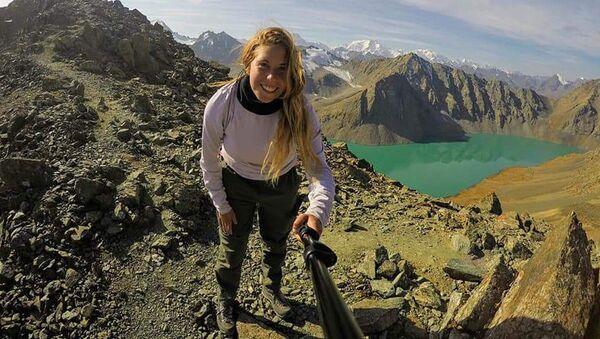 Архивное фото пропавшей в Кыргызстане туристки из Тель-Авива 22-летней Хиллы Ливне - Sputnik Таджикистан