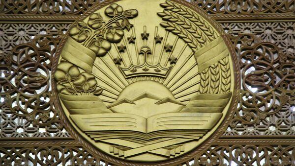 Герб Республики Таджикистан - Sputnik Тоҷикистон