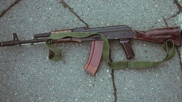 Автомат Калашникова АК-47 - Sputnik Таджикистан