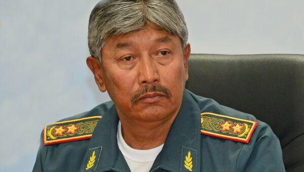 Заместитель министра обороны Окас Сапаров, архивное фото - Sputnik Таджикистан