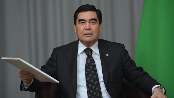 Президент Туркмении, председатель Кабинета министров Туркмении Гурбангулы Бердымухамедов - Sputnik Таджикистан