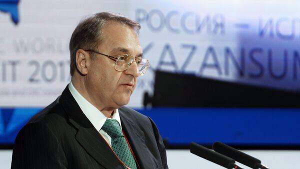 Заместитель министра иностранных дел России Михаил Богданов, архивное фото - Sputnik Тоҷикистон