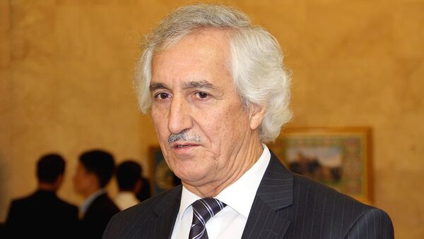 Низом Косим, глава союза писателей Таджикистана - Sputnik Таджикистан