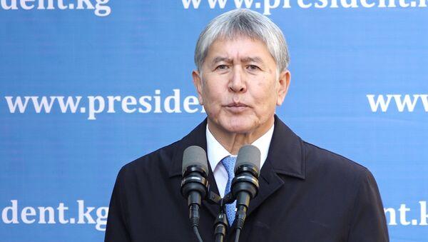 Такой помощи не надо — Атамбаев высказался о $100 млн от Казахстана - Sputnik Тоҷикистон