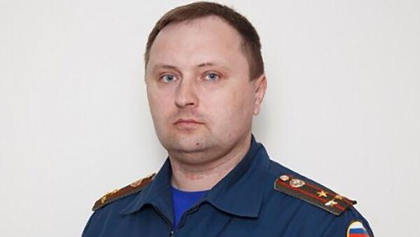 Начальник факультета руководящего состава Кузьмин Антон, архивное фото - Sputnik Таджикистан