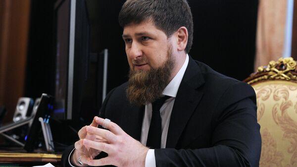 Глава Чечни Рамзан Кадыров - Sputnik Таджикистан