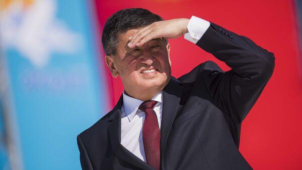 Сооронбай Жээнбеков – новый президент Киргизии - Sputnik Тоҷикистон