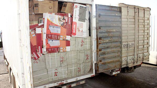 Склад контрабандных товаров из Китая - Sputnik Тоҷикистон