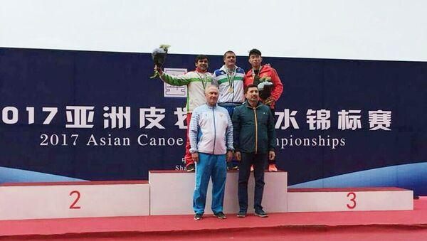 Чемпионат Азии по гребле в Китайе, город Шанхай - Sputnik Тоҷикистон