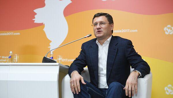 Александр Новак министр энергетики РФ - Sputnik Таджикистан