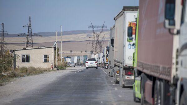 Граница между Кыргызстаном и Казахстаном - Sputnik Таджикистан