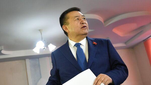 Спикер Жогорку Кенеша (парламента) Кыргызстана Чыныбай Турсунбеков, архивное фото - Sputnik Таджикистан