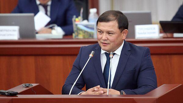 Спикер парламента Кыргызстана Дастан Джумабеков, архивное фото - Sputnik Тоҷикистон