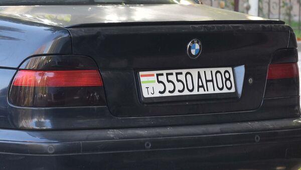 Автомобильные номера в Таджикистане, архивное фото - Sputnik Таджикистан