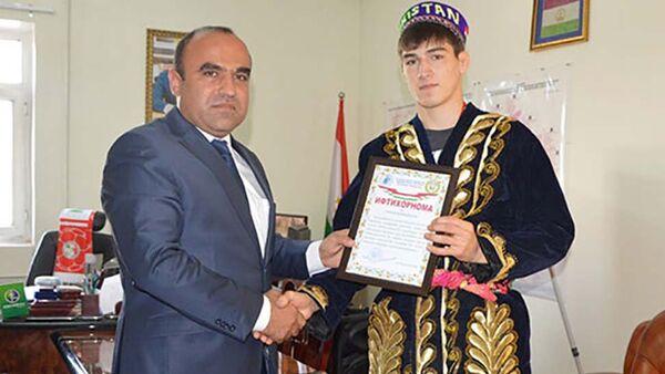 Спортсмен Сомон Махмадбеков посетит Таджикистан - Sputnik Тоҷикистон
