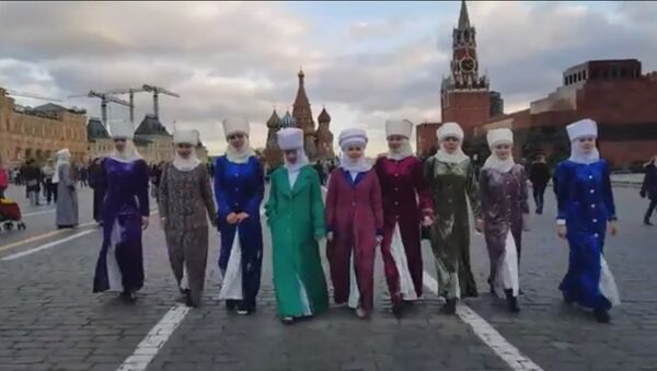 Кыргызский флешмоб - Sputnik Таджикистан