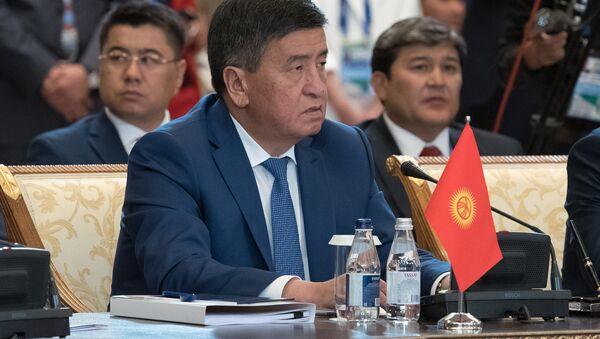 Сооронбай Жээнбеков, архивное фото - Sputnik Таджикистан