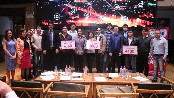 В Душанбе состоялся первый в истории страны Хакатон - Sputnik Тоҷикистон
