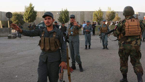 Афганские военные, архивное фото - Sputnik Тоҷикистон
