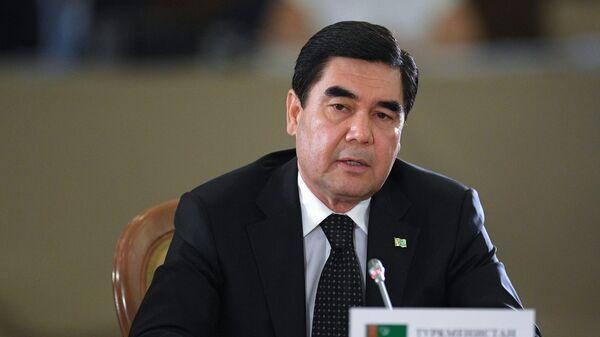 Президент Туркмении Гурбангулы Бердымухамедов на заседании Совета глав государств - Sputnik Таджикистан