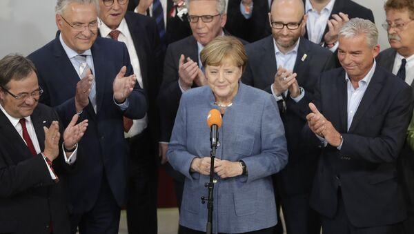 Ангела Меркель, канцлер Германии, архивное фото - Sputnik Тоҷикистон