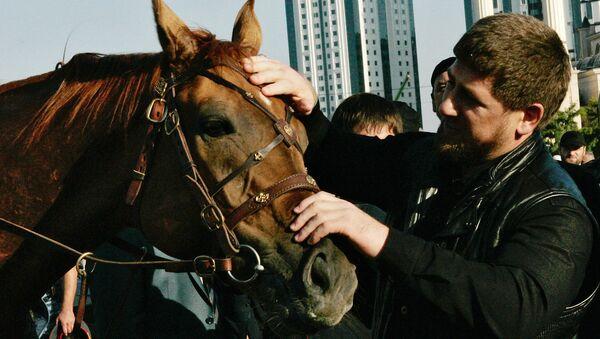 Глава Чечни Рамзан Кадыров, архивное фото - Sputnik Тоҷикистон