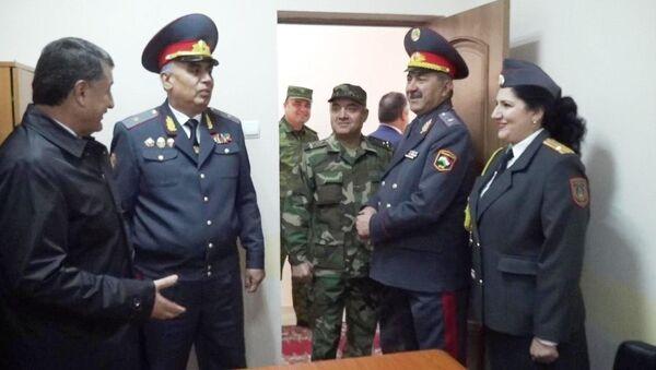 Открытия нового здания милиции в ГБАО - Sputnik Тоҷикистон