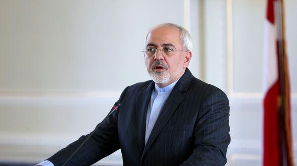 Министр иностранных дел Ирана Мохаммад Джавад Зариф, архивное фото - Sputnik Тоҷикистон