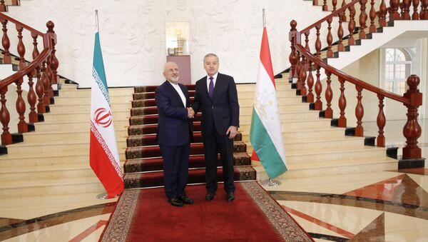 Встреча Министра иностранных дел Республики Таджикистан с Министром иностранных дел Исламской Республики Иран - Sputnik Тоҷикистон