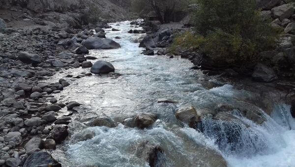 Река Сиама в Таджикистане - Sputnik Тоҷикистон