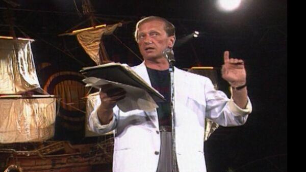 Выступление Михаила Задорнова в Ялте в 1992 году. Архивные кадры - Sputnik Тоҷикистон