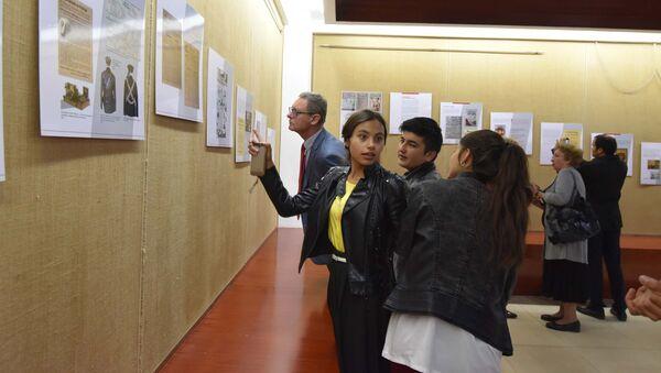 В Душанбе открылась выставка к 100-летию Революции 1917 года - Sputnik Тоҷикистон