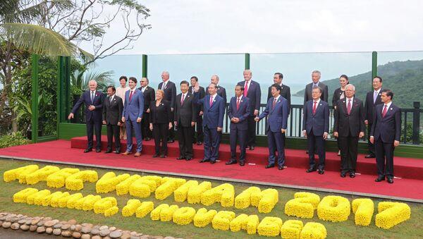 Саммит Азиатско-Тихоокеанского экономического сотрудничества (АТЭС), архивное фото - Sputnik Таджикистан
