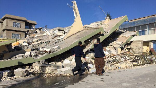 Землетрясение в Иране - Sputnik Тоҷикистон