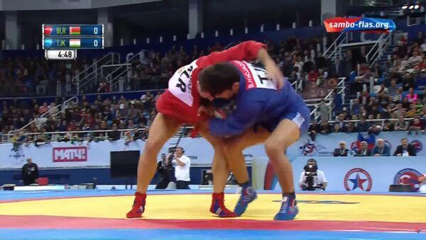 Бехруз Ходжазода стал чемпионом мира по спортивному и боевому самбо - Sputnik Таджикистан
