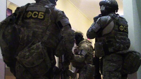 Сотрудники ФСБ России, архивное фото - Sputnik Таджикистан
