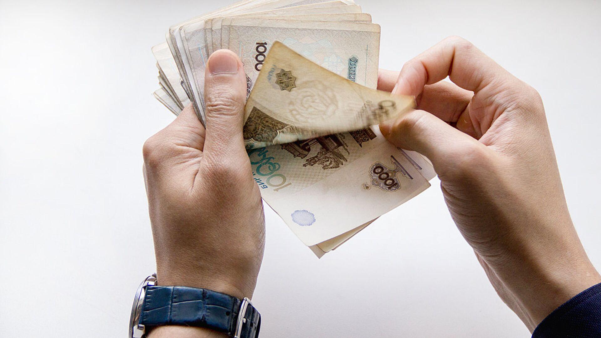 Узбекская валюта - сум  - Sputnik Таджикистан, 1920, 20.08.2021
