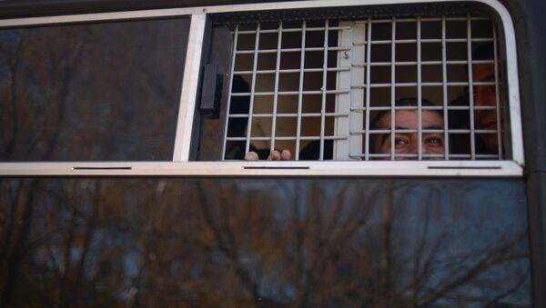 Задержанный, архивное фото - Sputnik Таджикистан