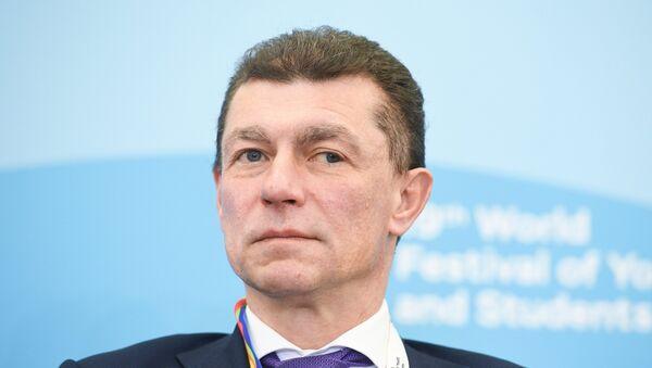 Министр труда и социальной защиты РФ Максим Топилин, архивное фото - Sputnik Таджикистан