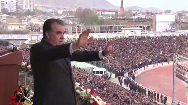 Таджикские звезды посвятили песню Эмомали Рахмону - Sputnik Тоҷикистон